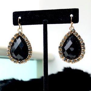 Onyx Gem Earrings